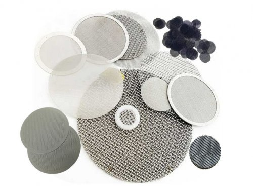 Metal Wire Mesh Filter Disc (Stainless Steel)