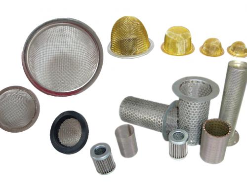 Metal Mesh Filter Tubes & Filter Caps