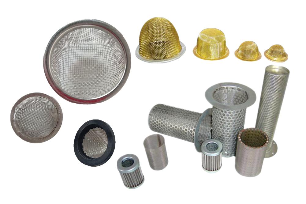 mesh tubes and caps
