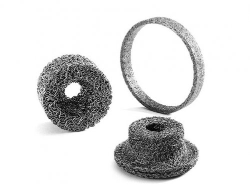 Compressed Knitted Wire Mesh Washers Gaskets