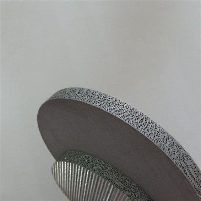 multi layer mesh discs by sintering