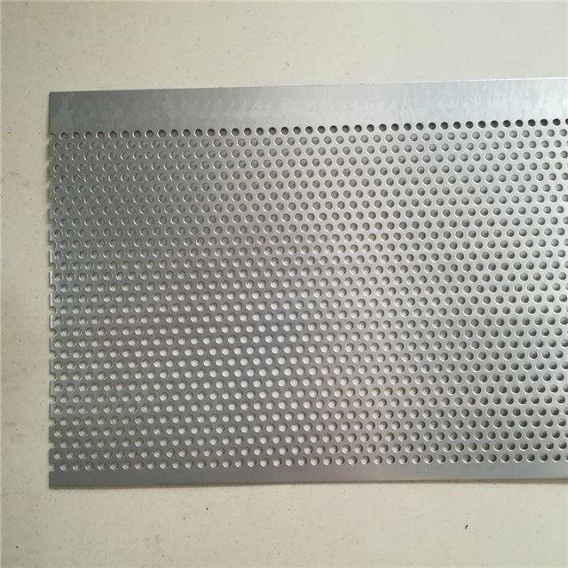 perforated mesh with round holes