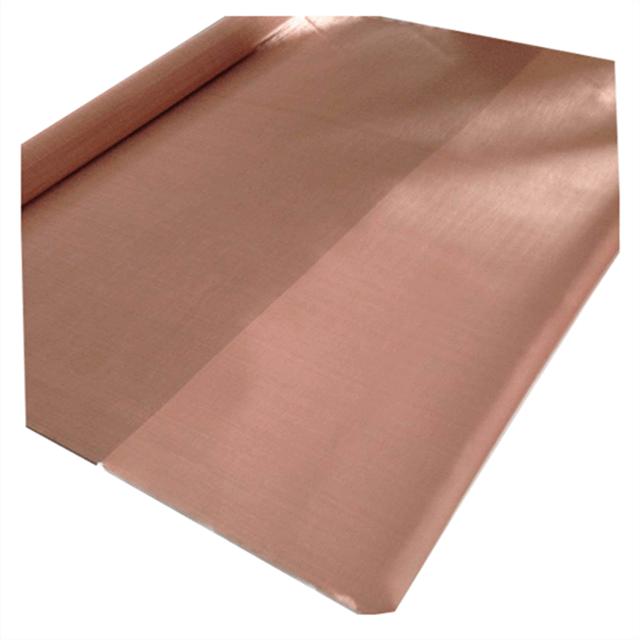 copper mesh fabric