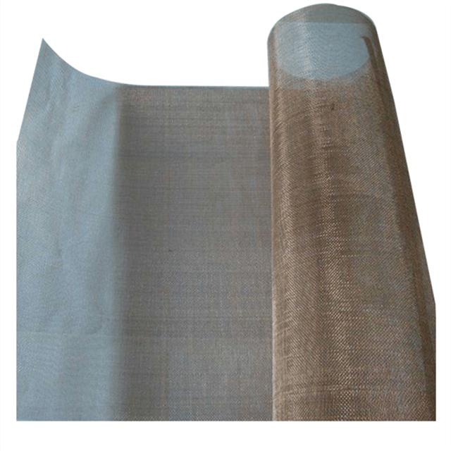 phosphor bronze woven wire mesh