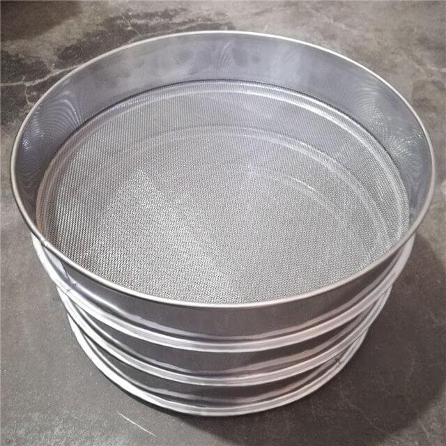 sieves stainless steel