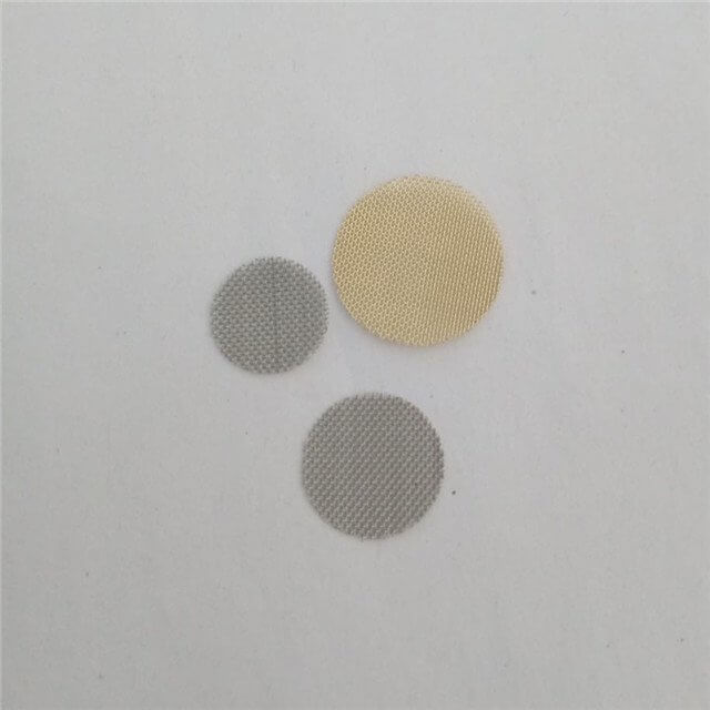 wire mesh disc (stainless steel & brass)