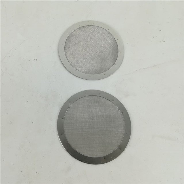 woven coffee filter disc