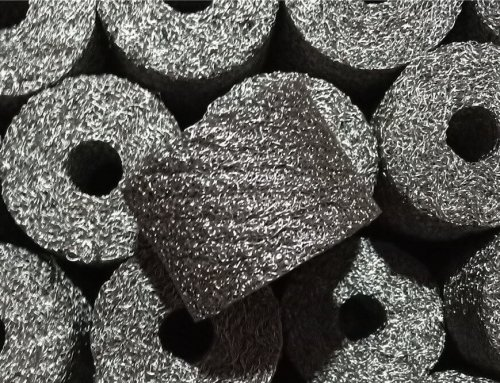 Knitted Mesh Airbag Filters Stainless Steel Material